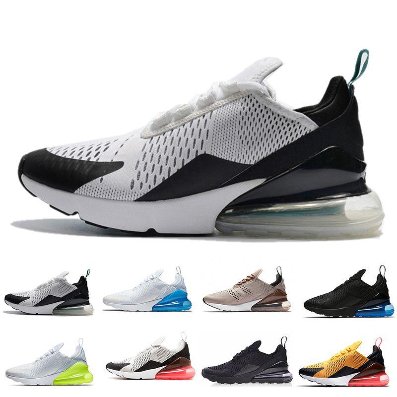 12d77438350 New 270 TN Plus Running Shoes 2018 Triple Black Maxes White Sports ...