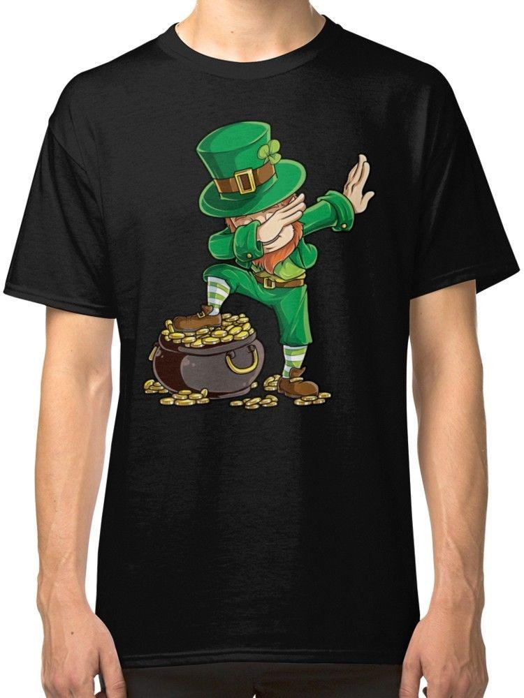 e5701322e Dabbing Leprechaun Funny Dab St Patricks Day Black T Shirt Tees Clothing  Interesting Tee Shirts Shop For T Shirts From Directwallartuk, $11.68|  DHgate.Com