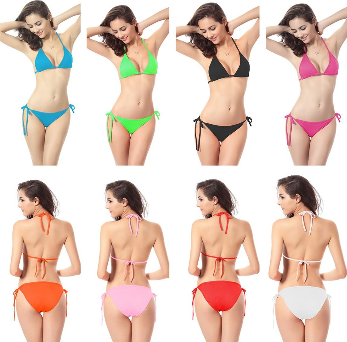 d36960e4fda1b 2019 Sexy Swimwear Plus Size For Women Two Pieces Swimsuit Beach Clothing Bathing  Suits Beach Bras Beachwear Push Up Bikini Set From Perfectday2015