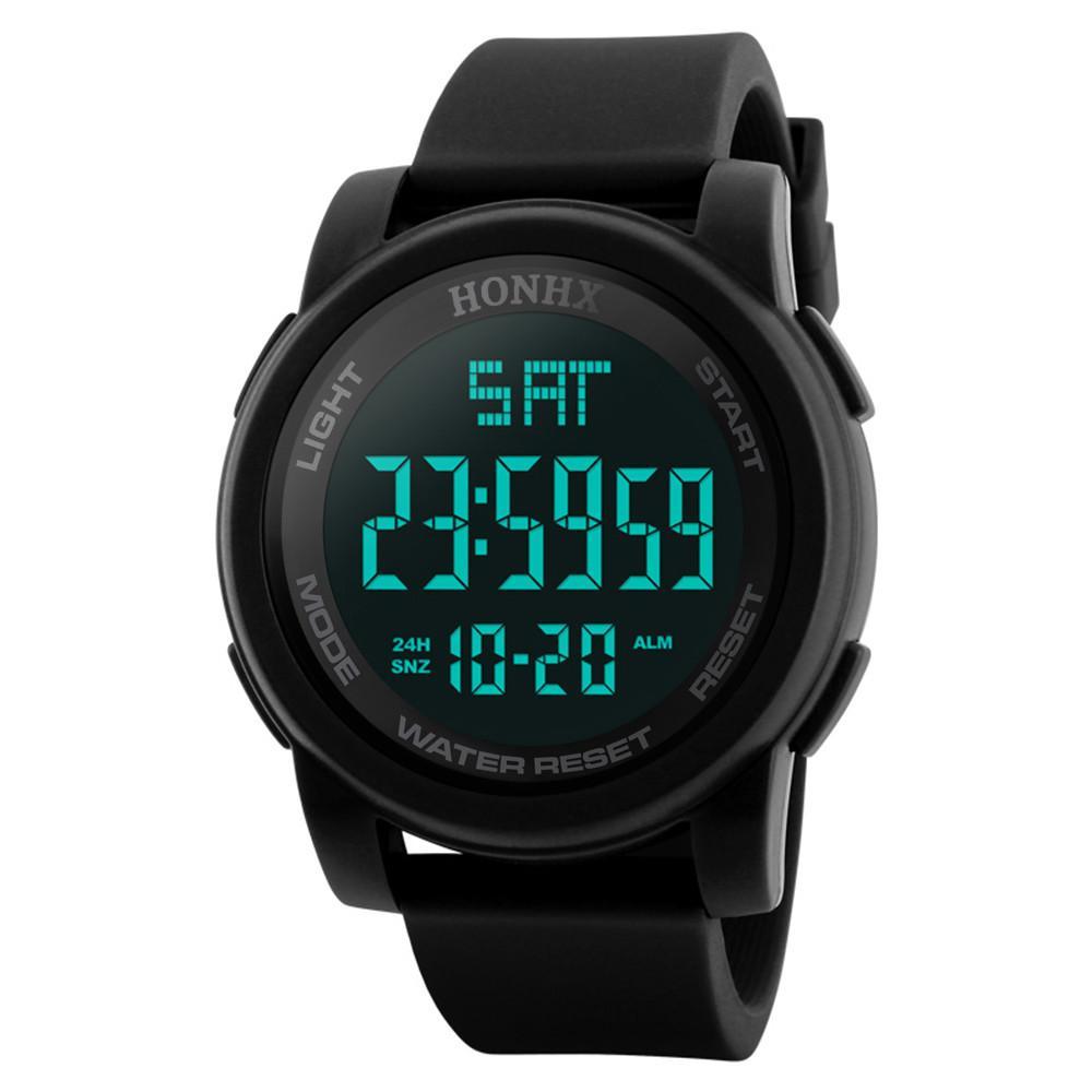 Digitale Uhren Original Honhx Männer Analog Digital Military Armee Sport Led Wasserdichte Armbanduhr 2019 Neue Uhr Männer Sport Wasserdicht Relogio Masculino Uhren