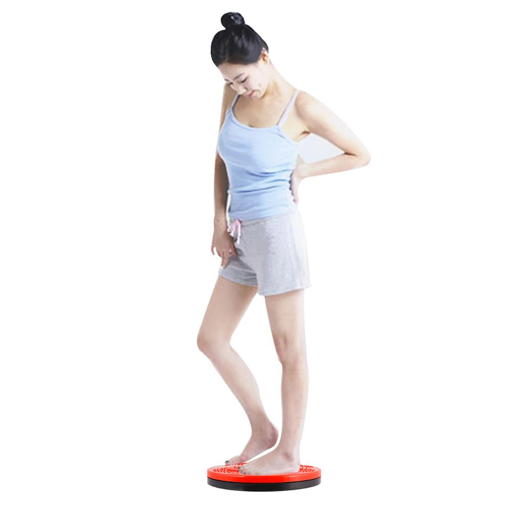 Vente chaude Fitness Twister Massage Figure Twister Disque Taille Pied Rotation Exercice Outil Femmes Accueil Yoga Gym Fitness Équipements