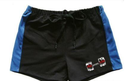NEW Men Gym Shorts Gold Powerhouse Fitness Bodybuilding Workout Sports 100% Cotton Running Training Shorts M-XXL