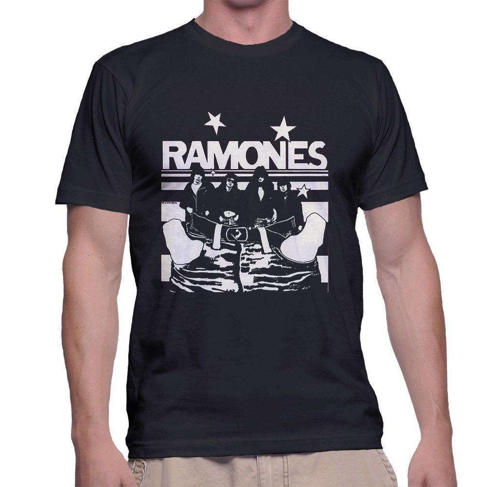 118fbd3d The Ramones T Shirt Size S 3XL Black Color Summer Short Sleeves Cotton  Fashiont T Shirt Ment Shirt Summer Style The T Shirt T Shirts Designer From  ...