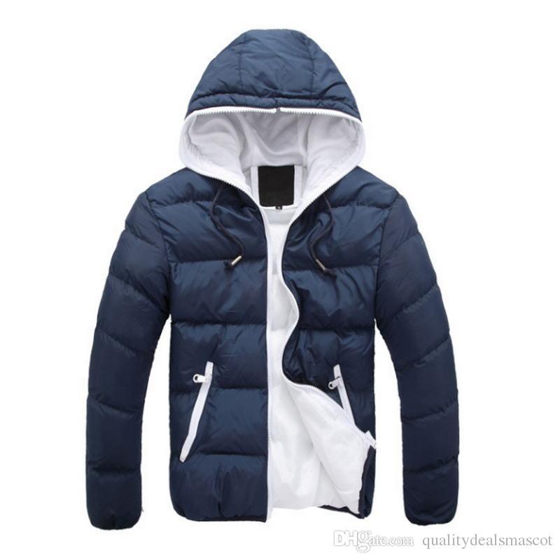 554433fd7c796 2019 2018 Men  S Parkas Jacket Winter Jacket Men Fashion Thickening Fur  Hooded Army Green Down Mens Puffer Outwear From Qualitydealsmascot