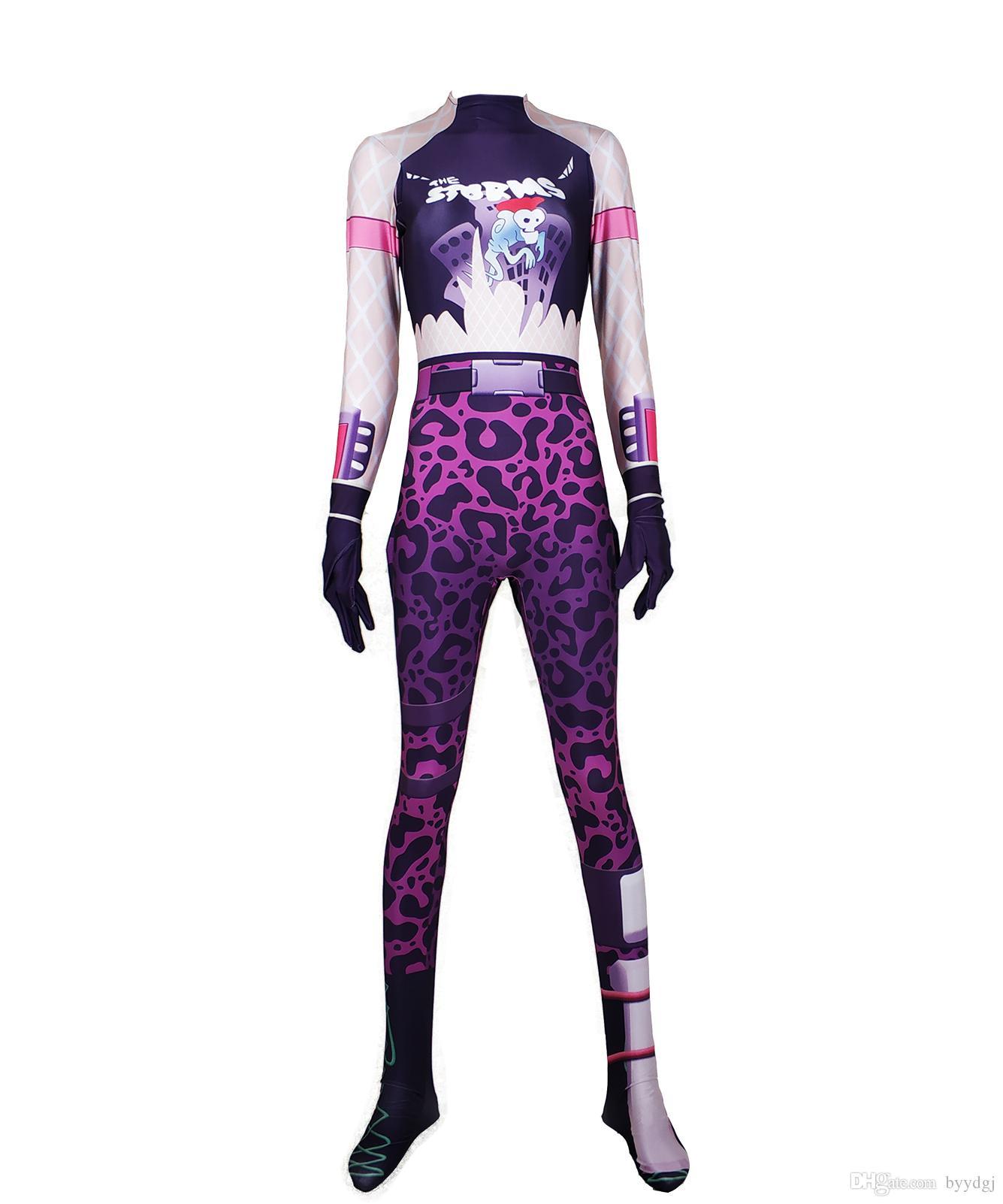 Kinderen Halloween.Halloween Leader Power Cosplay Costume Bodysuit Zentai Suit Kostuum Volwassenen Kinderen Kids