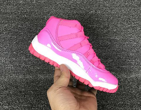 Rahat Çocuklar 11 Gençlik Basketbol Ayakkabı Sneakers Erkek Kız Çocuklar için Siyah Kırmızı Beyaz Legend Gamma Blue 72-10 11 Xi ABD