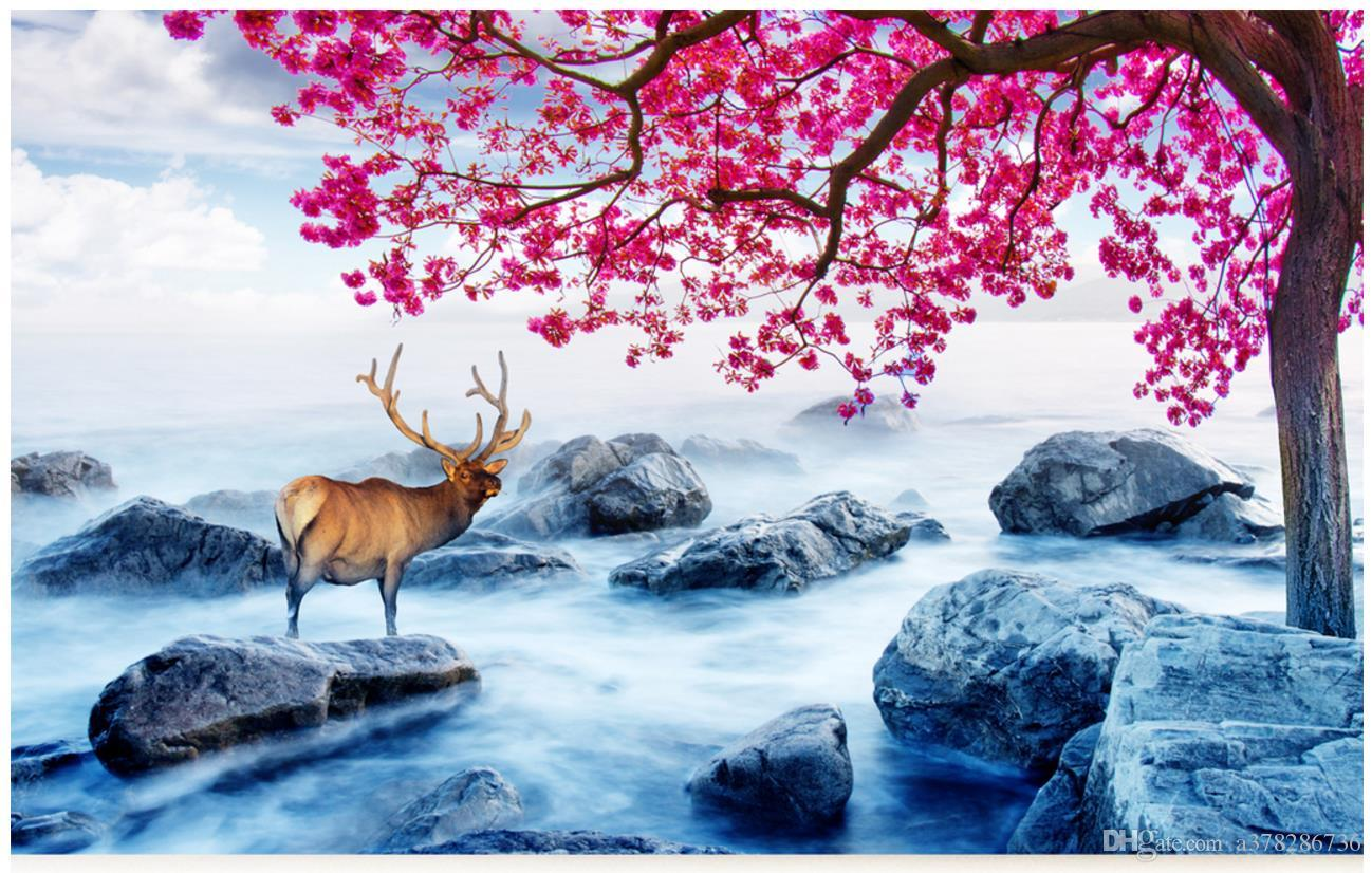 Winter Tree Landscape Living Room Bedroom Background Mural Home Decor Colour Wallpapers Computer Desktop Wallpaper From A378286736 2634