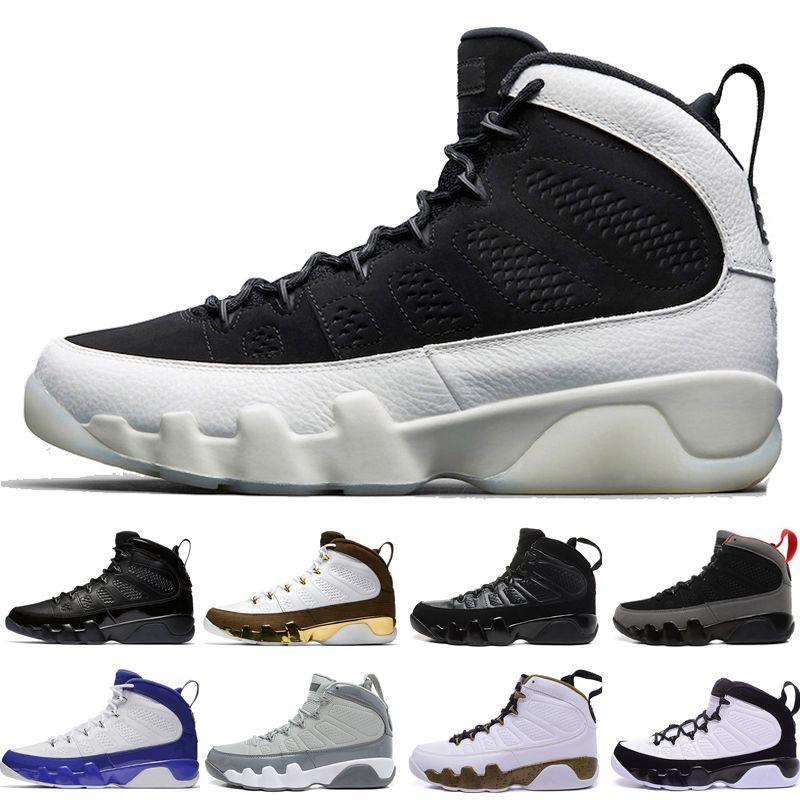 9eb3061aebd75 Wholesale New 9 9s Mens Basketball Shoes LA Bred OG Space Jam Tour ...