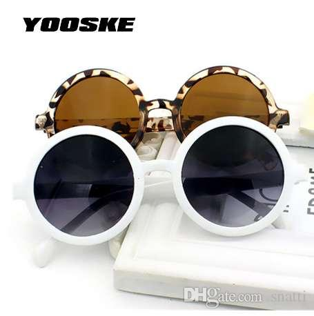 66aaa7e6baf YOOSKE Retro Round Sunglasses Women Colorful Coating Mirror Sun ...