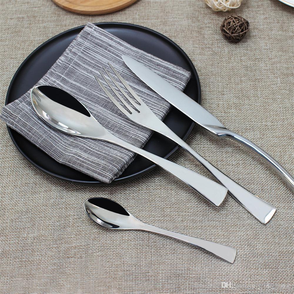 Elegant Good Quality New French Style Dinnerware SetStainless Steel New Cutlery Set Hotel Restaurant Ceramic Tableware Melamine Dinnerware Sets Clearance ... & Elegant Good Quality New French Style Dinnerware SetStainless Steel ...