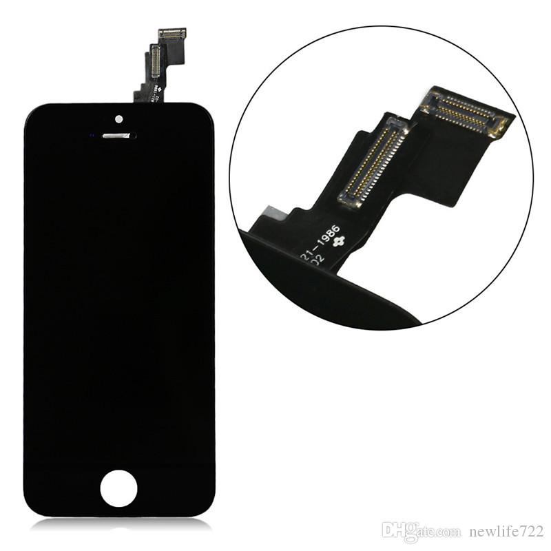 Brand New LCD Pantalla For Iphone 5C Display Touch Screen Digitizer Assembly Parts 4.0inch Cellphone Screen Replacement