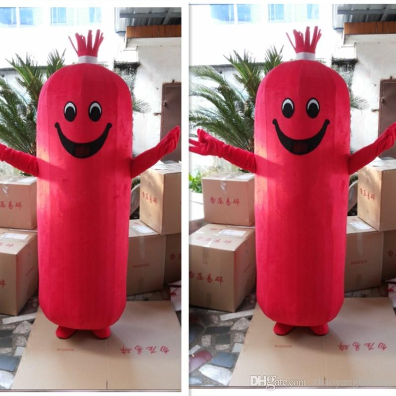 Acquista foto reale del costume della mascotte di buona visione