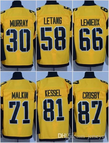 size 40 264ba aa798 #66 Mario Lemieux Jersey 2017 Stadium Series Men s 30 Matt Murray 58 Kris  Letang 81 Phil Kessel 87 Sidney Crosby 71 Evgeni Malkin Jerseys