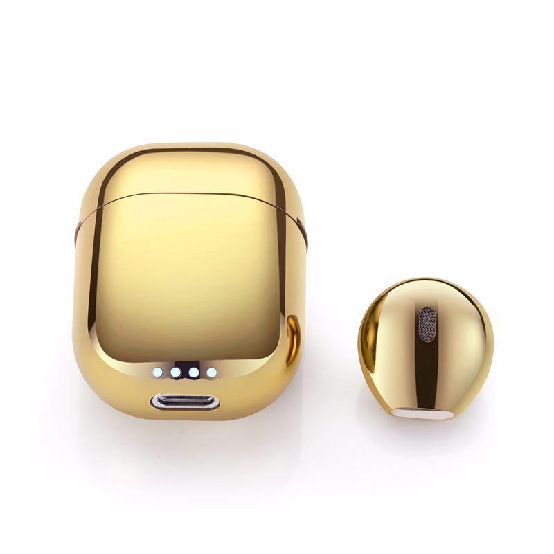IP8 Super Mini Wireless Bluetooth Earphone Earbud Stereo Single Ear Headphone with Charge Box Portable Stealth Earplug for Iphone Samsung