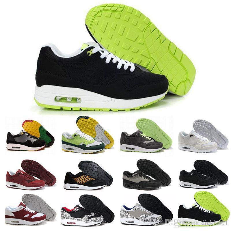 buy online 15688 9cab3 Acquista Più Nuovo Modello A Buon Mercato Alr Tavas Nike Air Max Airmax 87  90 Camouflage Uomo Scarpe Da Corsa Top Originale Nero Thea Scarpe Sportive  Taglia ...