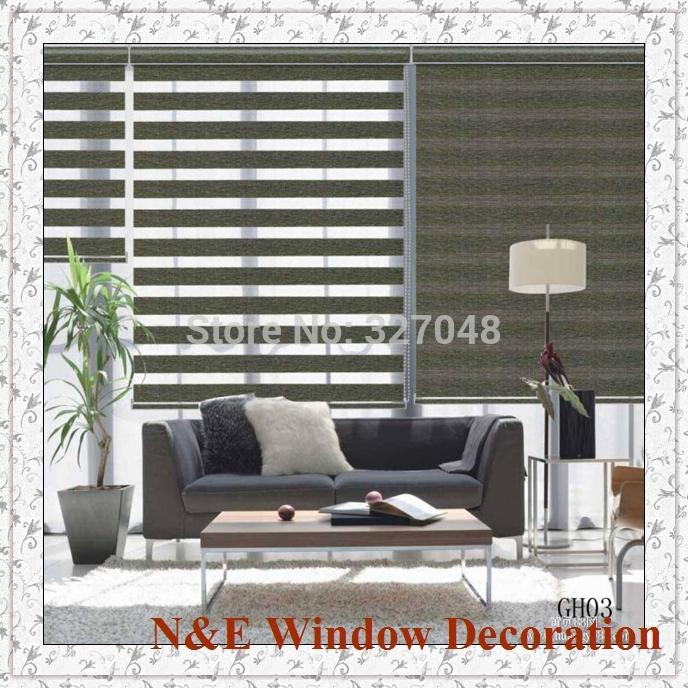 2018 Window Blinds Zebra Roller Blinds Shades And Curtain Wall For Living  Room Window Shade From Hobarte, $60.51 | Dhgate.Com