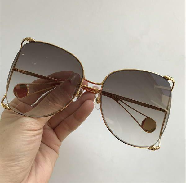 ce48afd5754f DESIGNER 0252S GOLD BROWN SUNGLASSES 0252 Fashion Brand Sunglasses New with  Box Fabulous Sunglasses RIHANNA SunglaSSeS 0289S SUNGLASSES Online with ...