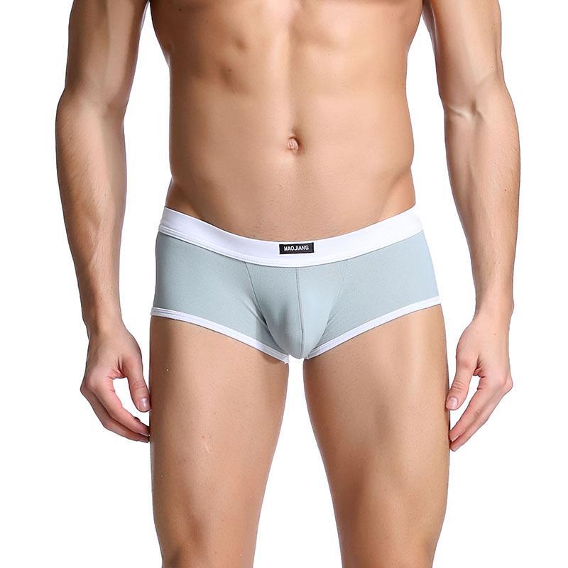 0a4e3289ce8 Mens Underwear Funny Boxer Short Sexy Panties Mens Pantys Trunk Breathable  Nylon Underpants Gay Sex Casual Boxer Underwear for Men Mens Underwear  Boxer Mens ...