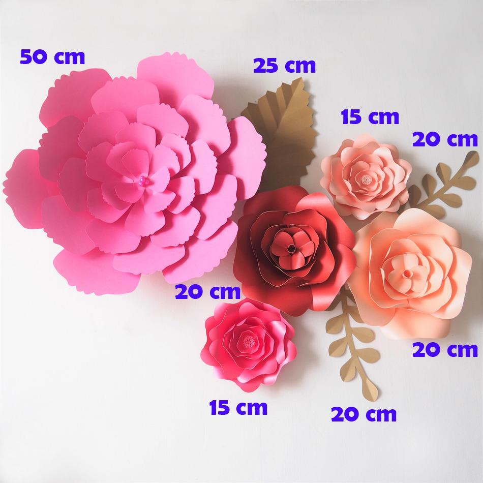 Wholesale Artificial Flowers Fleurs Artificielles Backdrop Giant