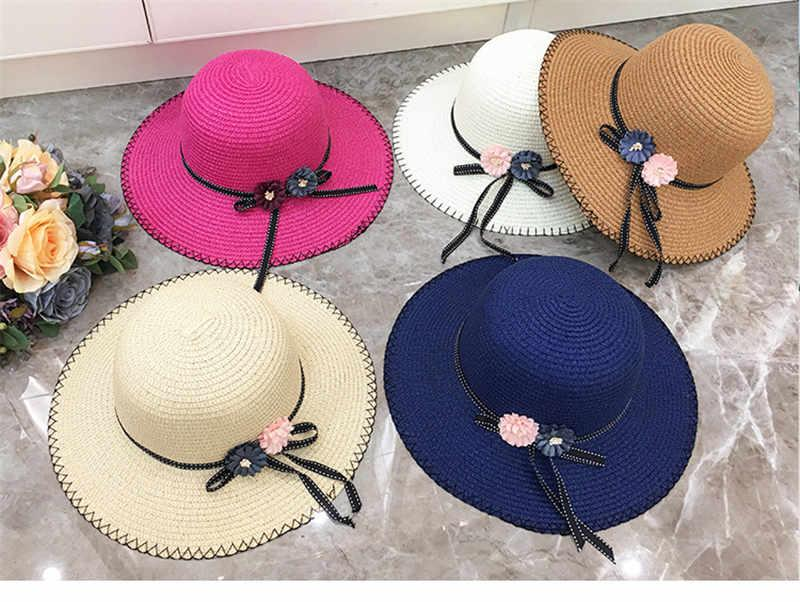 Hats for Women Wide Brim Hats folding hat hollow Out Door Sun Protection  Women Beach Outdoor Hat sun hatS large brimmed straw hat