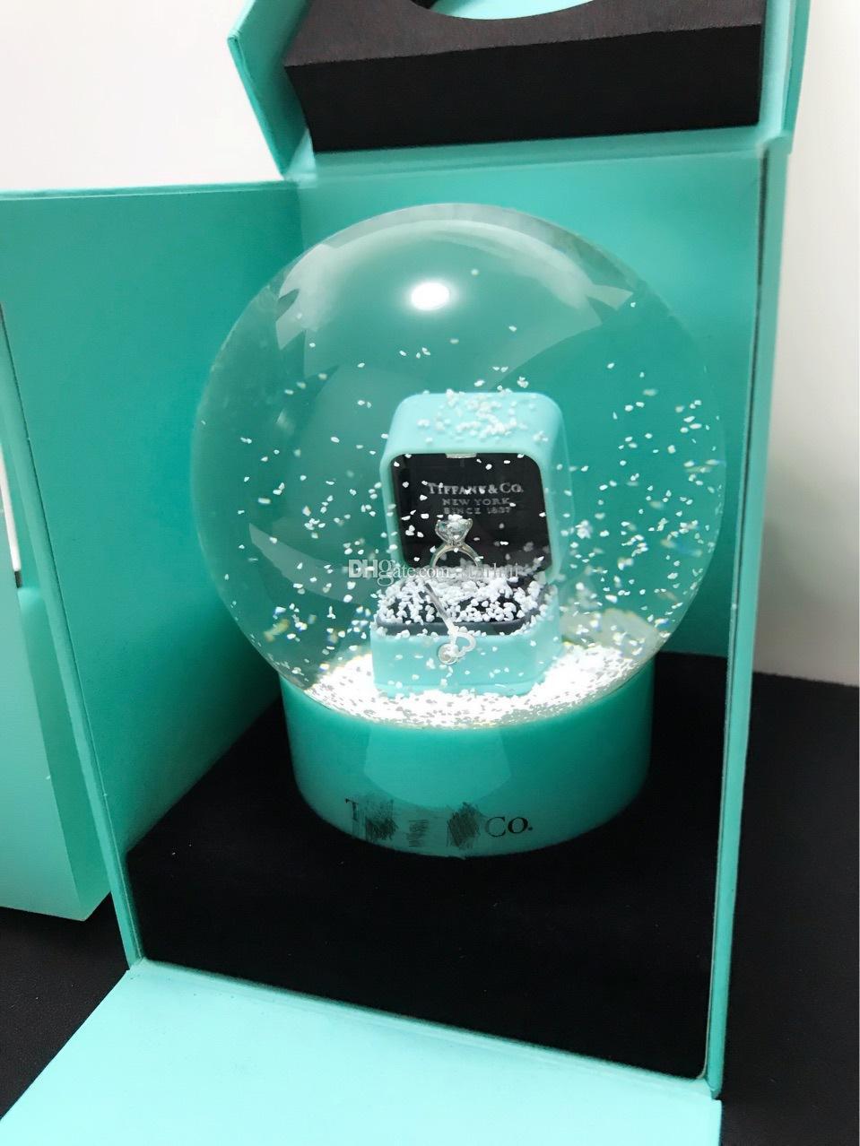 شجرة عيد الميلاد كريستال الكرة زجاج غلوب فنون تزيين المنزل عيد الميلاد ندفة الثلج الكرة الأطفال هدايا عيد WX9-494
