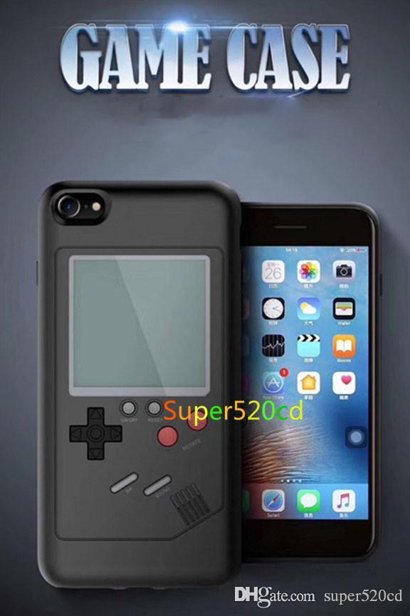 Games Phone Case Retro Tetris Nostalgia Game Phone Phone Silicone 6 7