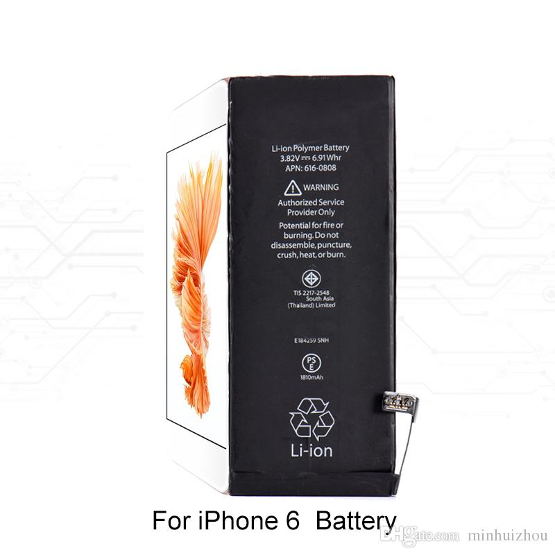 Batterie-Grad A +++ Qualität Nullzyklus eingebaute interne Li-Ion Ersatzbatterie für iPhone 4 5s 5c 6 7 7P 8G 8P