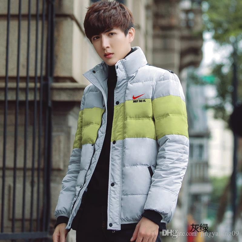 Männer Jacken Marke Mäntel warmen Mantel Herren Mantel Marke Sport Jacke Winter unten Parkas Mann Mantel Größe M 3XLcm 2 Farben neue Mode Wint