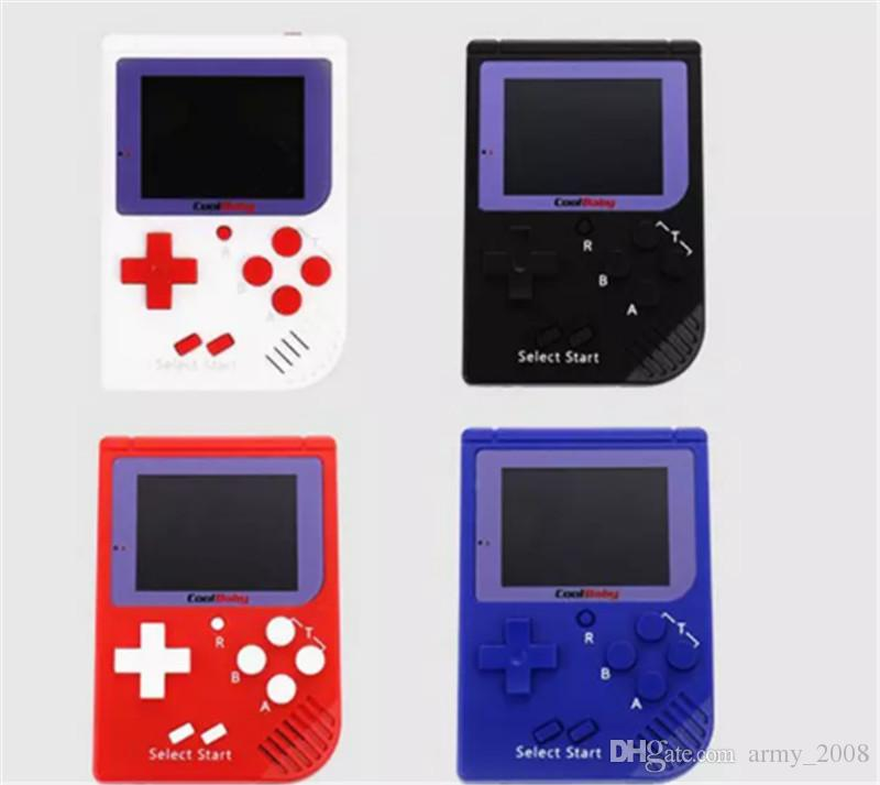 RS-6 Mini Handheld Game Console 8 Bit RS6 Retro Portable Game Player Station with 2.5inch LCD Display