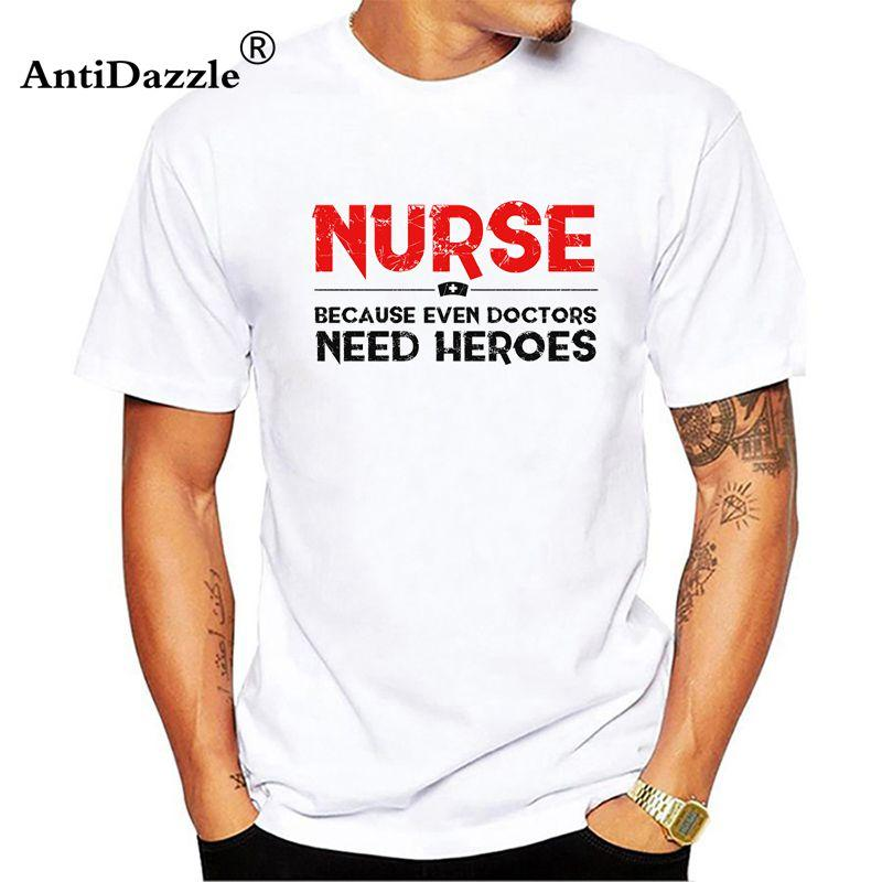 antidazzle t shirts words design clothing customized nurse heroes t