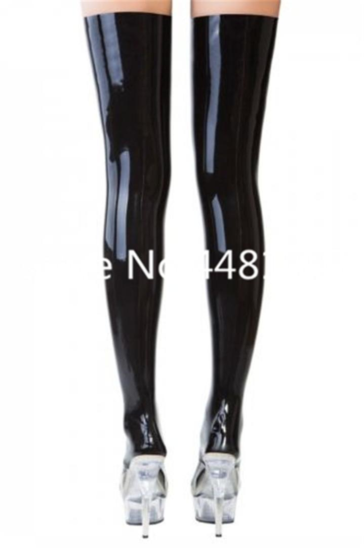 b83828024 2019 Latex Rubber Black Stocking Halloween Tights For Women Club Party Wear  Halloween Socks Kids From Xinpiao