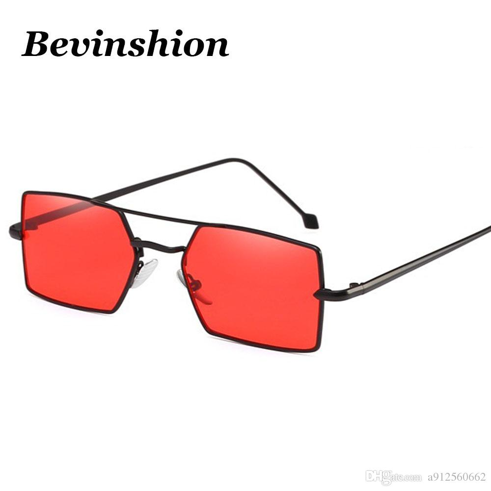 New Year 2018 Metal Wild Square Sunglasses Women Vintage Sun Glasses ...