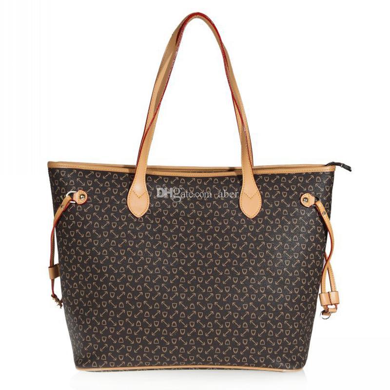 91a6c727003d Top quality Women handbags NF MM GM Handbag 100% Genuine Leather Shoulder  bag 41178 Real Leather Damier ebene canvas Handbag Purse 40995