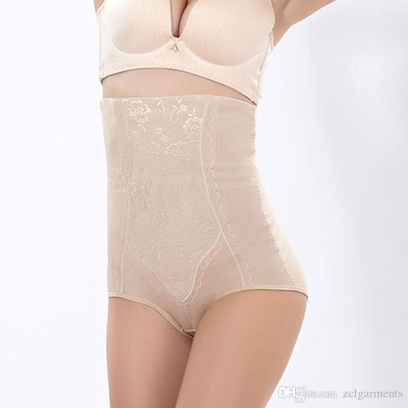 Women Tummy Control Panties High Waist Butt Lifter Women Slimming Body Shaper Enhancer Panty Waist Cincher Skin Black Waist Trainer