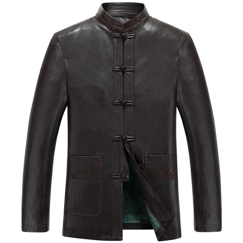 free shipping 38d45 2c0a9 nouveau-veste-en-cuir-hommes-design-stand.jpg