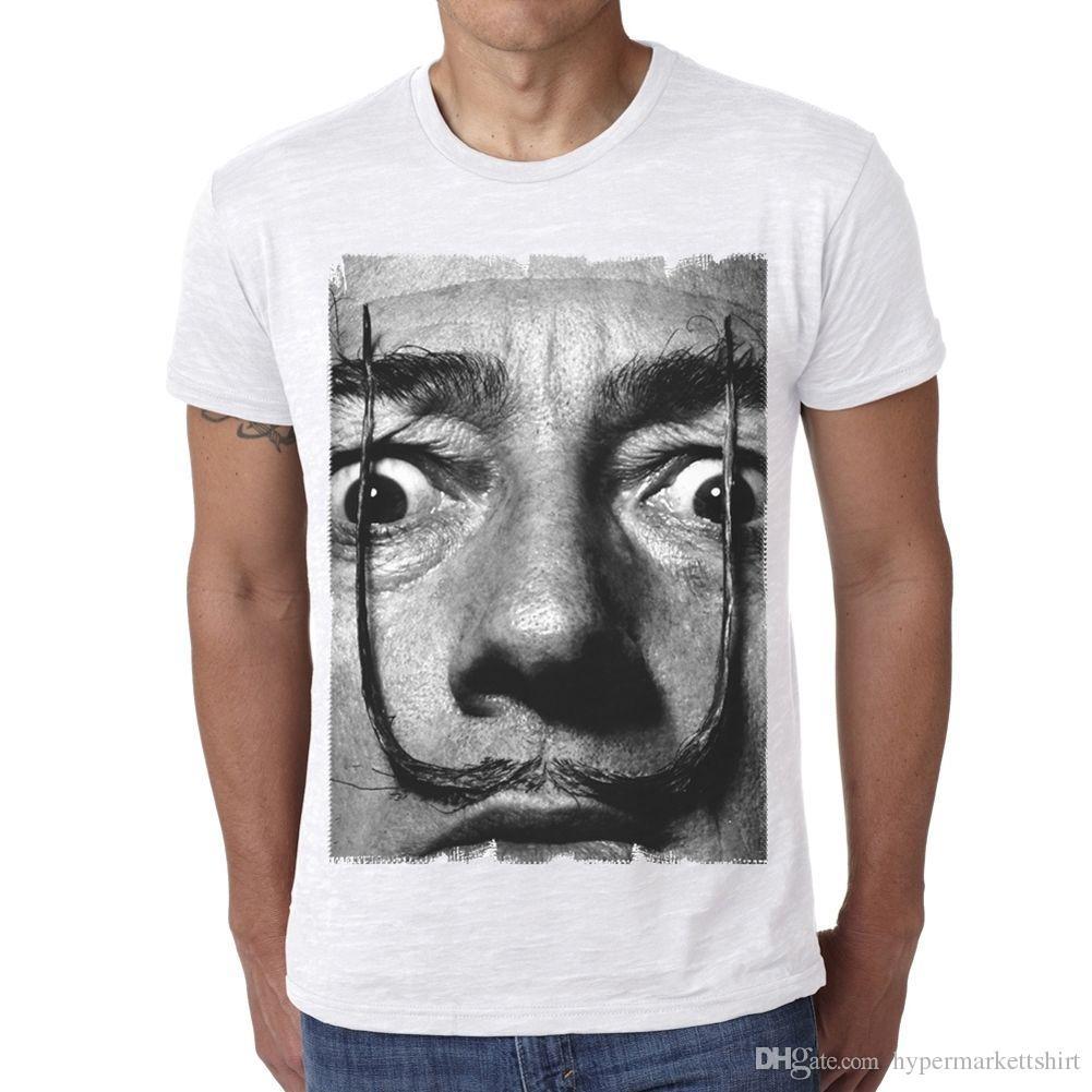 1e7a6f090887 Salvador Dali H T Shirt Homme