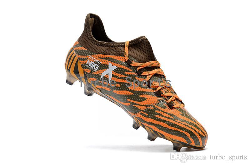 2018 Ucuz X 17.1 FG / AG Futbol Cleats Erkekler için Futbol Ayakkabıları Otantik Messi Açık TPU Çizmeler turf futsal Ücretsiz kargo Toptan