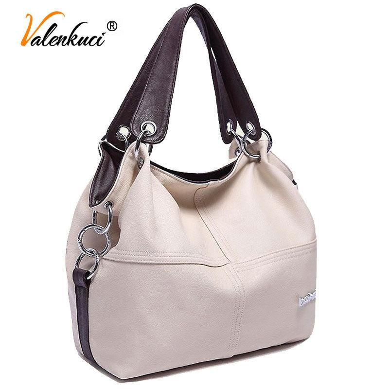 8dc3e5cc36 2019 Fashion Designer Women Handbag Female PU Leather Bags Handbags Brand  Shoulder Crossbody Bag Office Ladies Hobos Bag Bolsos Mujer Tote Branded  Bags ...