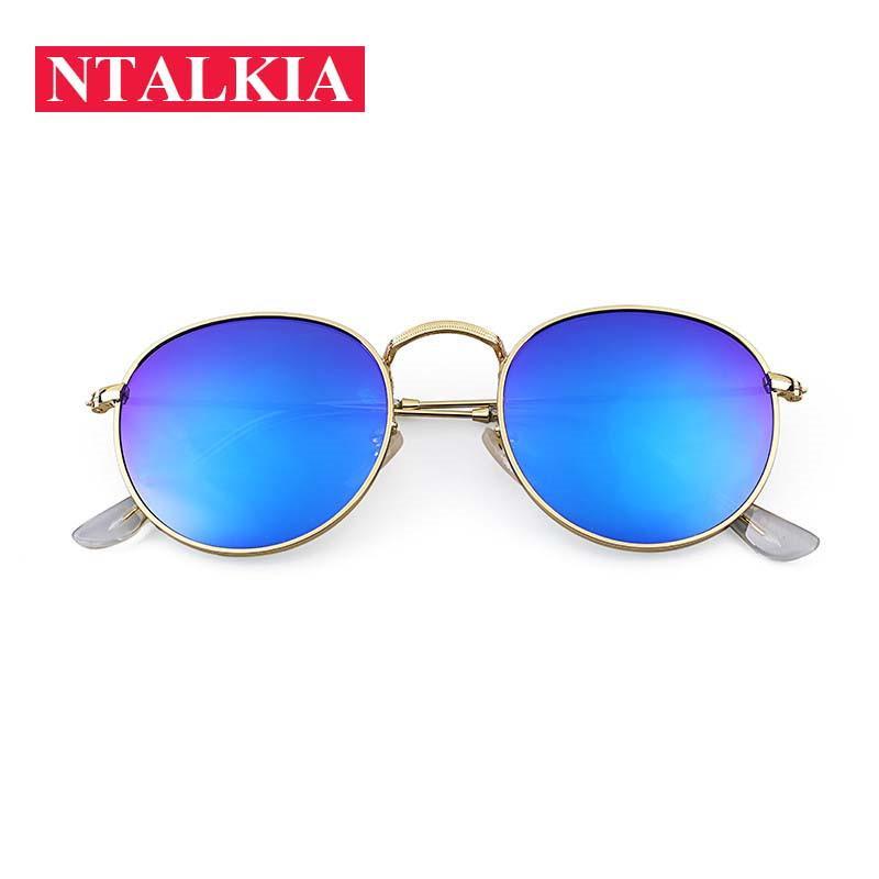 ebf225fccb8 2018 Retro Round Sunglasses Women Men Brand Designer Sun Glasses For Women  Alloy Mirror Sunglasses Ray Female Oculos De Sol John Lennon Sunglasses  Wiley X ...