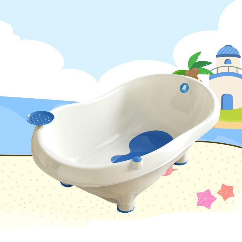 2018 Baby Bath Tub Baby Bathtub Child Thickening Large Bathtub ...
