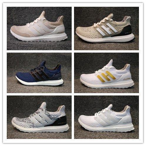 3f82acc4cb01f Ultra Boost 4.0 3.0 Running Shoes Core CNY Primeknit Runner Fashion ...