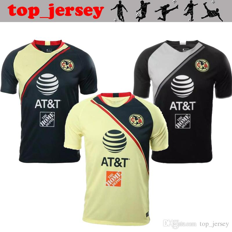 2019 2019 New Mexico Club America Soccer Jersey 18 19 C.BLANCO Home Away  D.BENEDETTO R.SAMBUEZA O.PERALTA I.RENATO S.ROMERO Football Shirt 2018 From  ... 431af4298