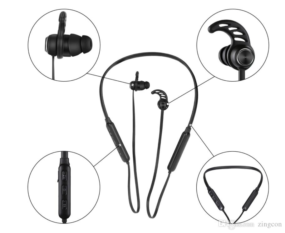 Wireless Headphone Sport Bluetooth Earphone With Magnetci Earbud