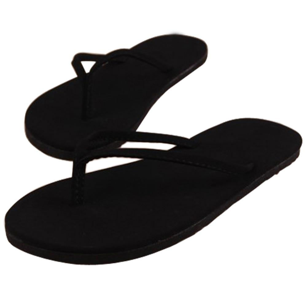 Fashion Women Summer Flip Flops Shoes Ladies Sexy Sandals Slipper EVA indoor & outdoor Flip-flops Shoes Solid Flat with Shoes