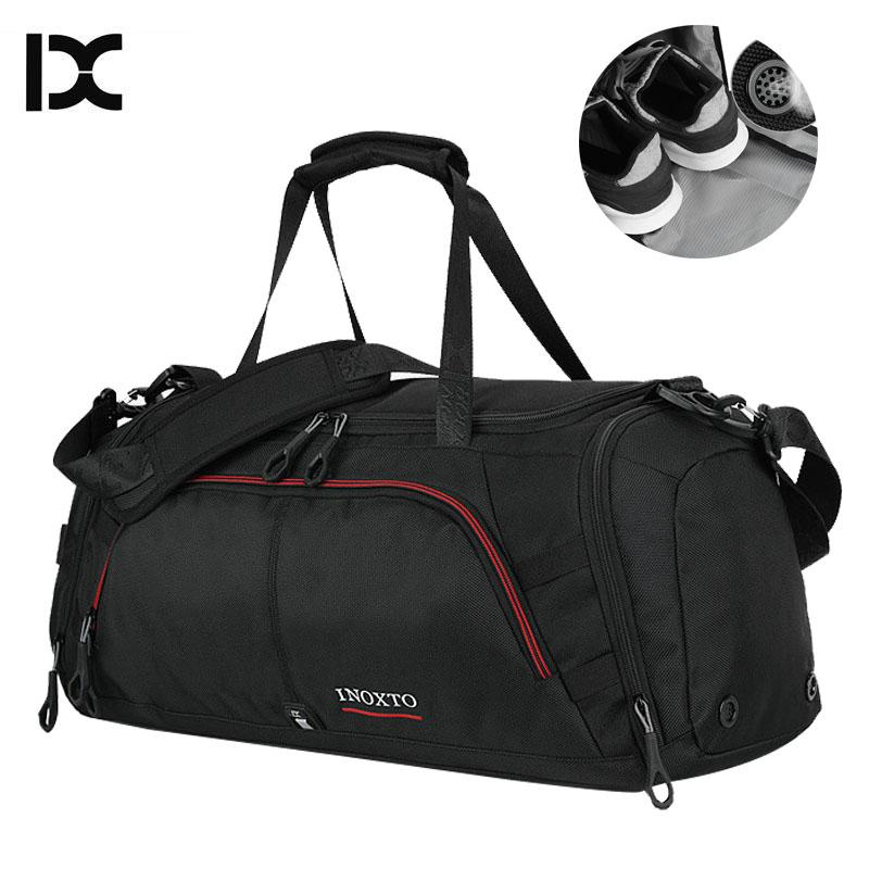 97f8fab159 2019 Large Sport Bag Gym Bags Travel Fitness Durable Handbags Large Outdoor Sporting  Big Waterproof Shoulder Shoes For Male XA416WA From Pekoe