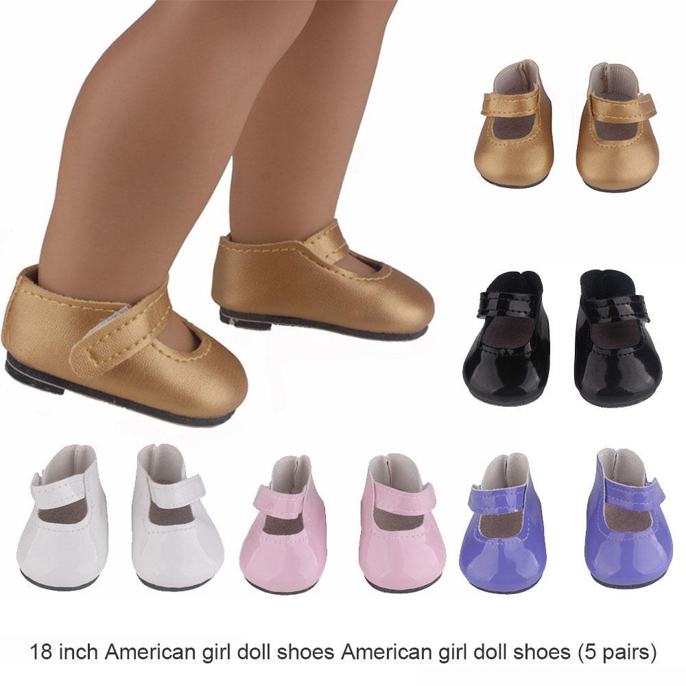 2018 Leather Doll Shoes Popular Girl Dolls Shoes 18 Inch American Girl Doll  Trend Mini Leather Accessories Drop Shipping Girl Accessories Dolls World  ... 97c8c50f1c8b