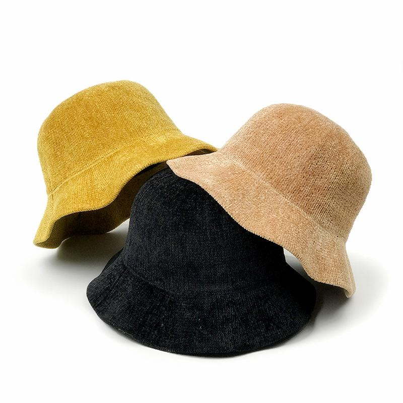 f0234d77f4add 2018 New Fashion Bucket Hat Adult Women Hip Hop Weave Caps Hiking ...