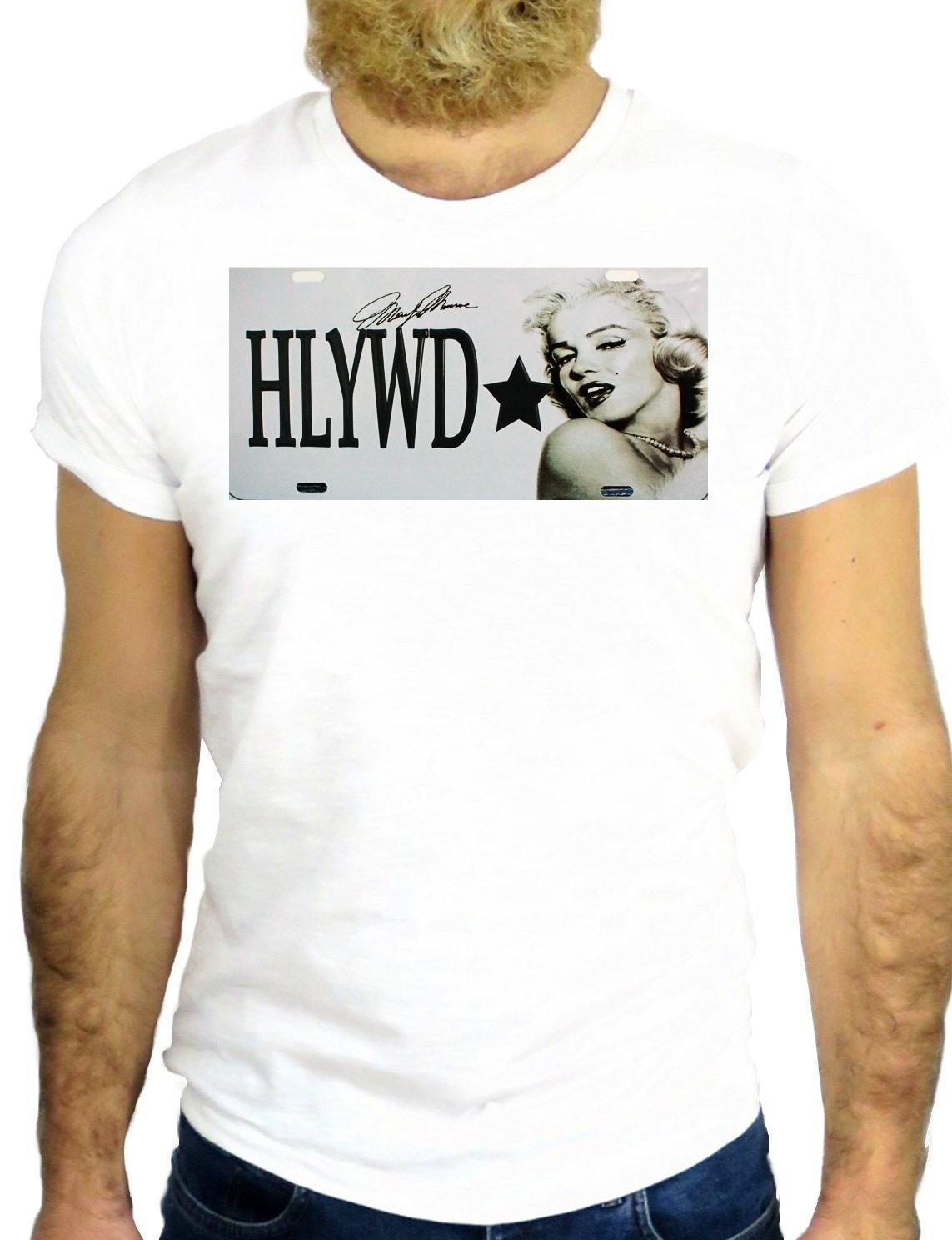 T SHIRT JODE Z2688 MARILYN HOLLYWOOD COOL NICE ROCK HIPSER NAME PLATE VINTAGE GG