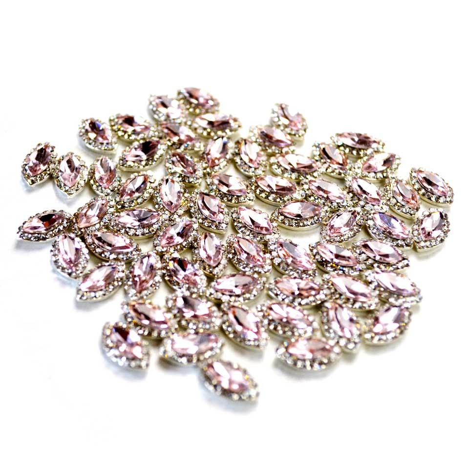 Horse Eye Metal Gems Rhinestones For Nails Design Nail Charms 3d ...