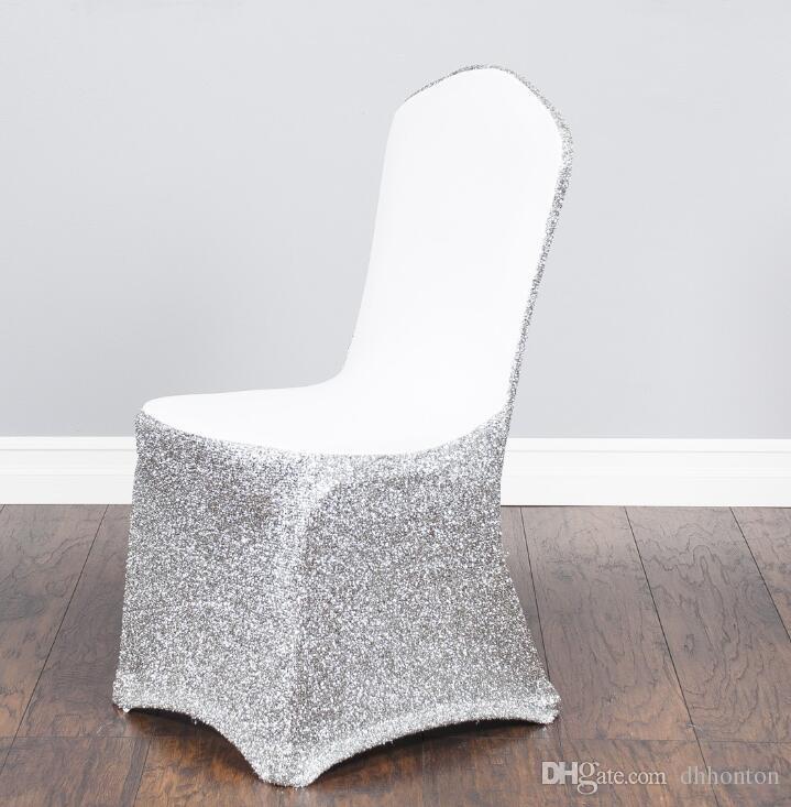 Art und Weise Spandex-Stuhlabdeckungen Pseudoodle-Sitzabdeckungen sind bunt und kundengerecht Hochzeitsparty-allgemeine Stuhlabdeckung WT074